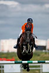 Hoogenraat Kim, NED, Caesar<br /> Young Riders European Championships Jumping <br /> Samorin 2017© Hippo Foto - Dirk Caremans<br /> 13/08/2017,