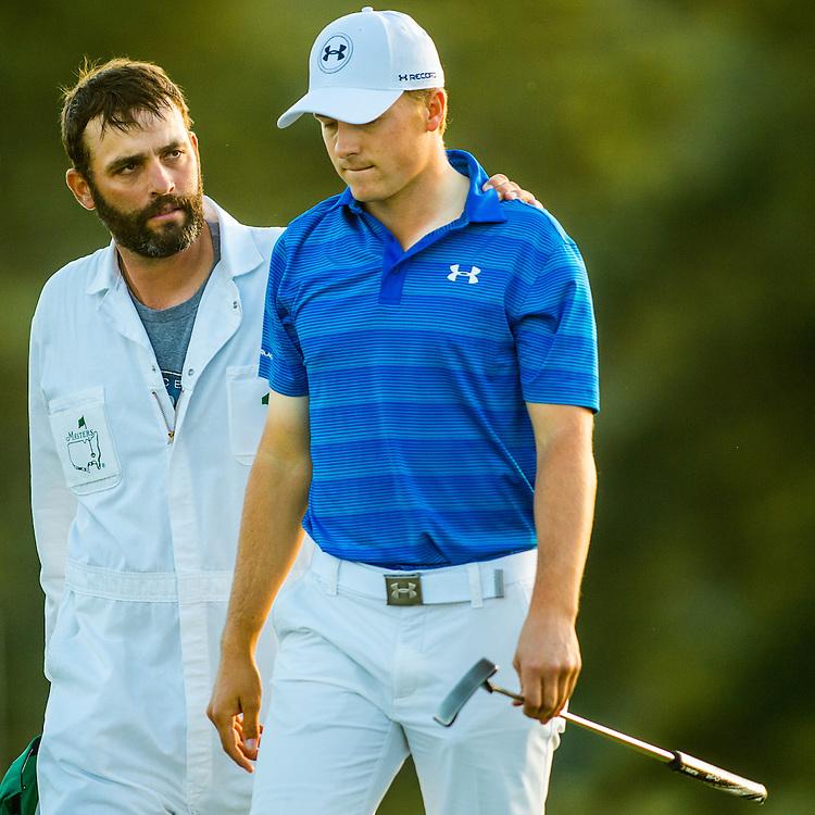 Golf: 2016 Masters<br /> Round 4 Sunday<br /> Augusta National/Augusta, GA, USA<br /> 04/10/2016<br /> SI-14 TK4<br /> Credit: Darren Carroll