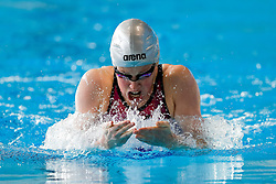 Hannah Miley in action in the Womens 200m Individual Medlay heats - Photo mandatory by-line: Rogan Thomson/JMP - 07966 386802 - 16/04/2015 - SPORT - SWIMMING - The London Aquatics Centre, England - Day 3 - British Swimming Championships 2015.