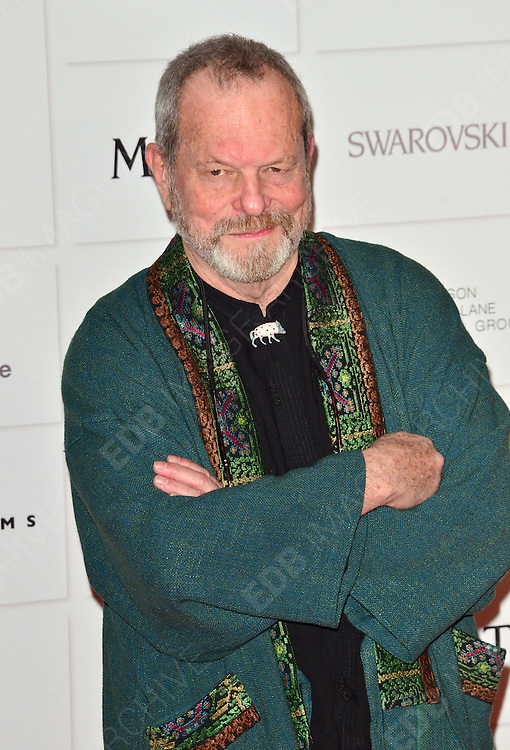 09.DECEMBER.2012. LONDON<br /> <br /> TERRY GILLIAM ATTENDS THE BRITISH INDEPENDENT FILM AWARDS AT OLD BILLINGSGATE MARKET. <br /> <br /> BYLINE: JOE ALVAREZ/EDBIMAGEARCHIVE.CO.UK<br /> <br /> *THIS IMAGE IS STRICTLY FOR UK NEWSPAPERS AND MAGAZINES ONLY*<br /> *FOR WORLD WIDE SALES AND WEB USE PLEASE CONTACT EDBIMAGEARCHIVE - 0208 954 5968*