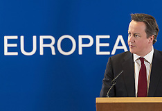 MAR 15 2013 David Cameron European Union summit