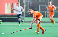 ROTTERDAM -  Jibbe Staps (Neth.)   Practice Match Hockey : Netherlands Boys U18  v England U18 .  COPYRIGHT KOEN SUYK