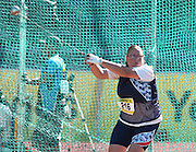 PORT ELIZABETH, SOUTH AFRICA, Friday 13 April 2012, Karin Snyman in the women's hammer throw during the Yellow Pages South African Senior and Combined Events Championships held at the Xerox Nelson Mandela Metropolitan University, Nelson Mandela Bay..Photo by Roger Sedres/Image SA/ASA