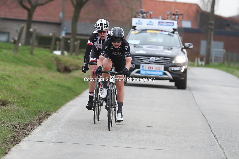 25-02-2017: Wielrennen: Omloop Het Nieuwsblad: Gent  <br />ELisa Longo Borghini, Ellen van Dijk