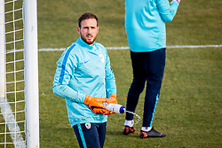 Jan Oblak, Training of Slovenian National Football team before friendly matches with Austria and Belarus, on March 21, 2018 in National Football Centre Brdo pri Kranju, Kranj, Slovenia. Photo by Ziga Zupan / Sportida