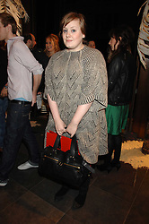ADELE ADKINS at a party hosted by Mulberry to celebrate the publication of The Meaning of Sunglasses by Hadley Freeman held at Mulberry 41-42 New Bond Street, London on 14th February 2008.<br />