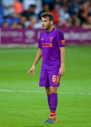 BIRKENHEAD, ENGLAND - Tuesday, July 10, 2018: Liverpool's Pedro Chirivella during a preseason friendly match between Tranmere Rovers FC and Liverpool FC at Prenton Park. (Pic by Paul Greenwood/Propaganda)