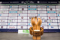 Trophy ceremony during the 1st Stage of 25th Tour de Slovenie 2018 cycling race between Lendava and Murska Sobota (159 km), on June 13, 2018 in  Slovenia. Photo by Vid Ponikvar / Sportida