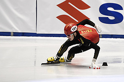 February 8, 2019 - Torino, Italia - Foto LaPresse/Nicolò Campo .8/02/2019 Torino (Italia) .Sport.ISU World Cup Short Track Torino - 1500 meter Men Quater Finals.Nella foto: Jialong Tian..Photo LaPresse/Nicolò Campo .February 8, 2019 Turin (Italy) .Sport.ISU World Cup Short Track Turin - 1500 meter Men Quater Finals.In the picture: Jialong Tian (Credit Image: © Nicolò Campo/Lapresse via ZUMA Press)