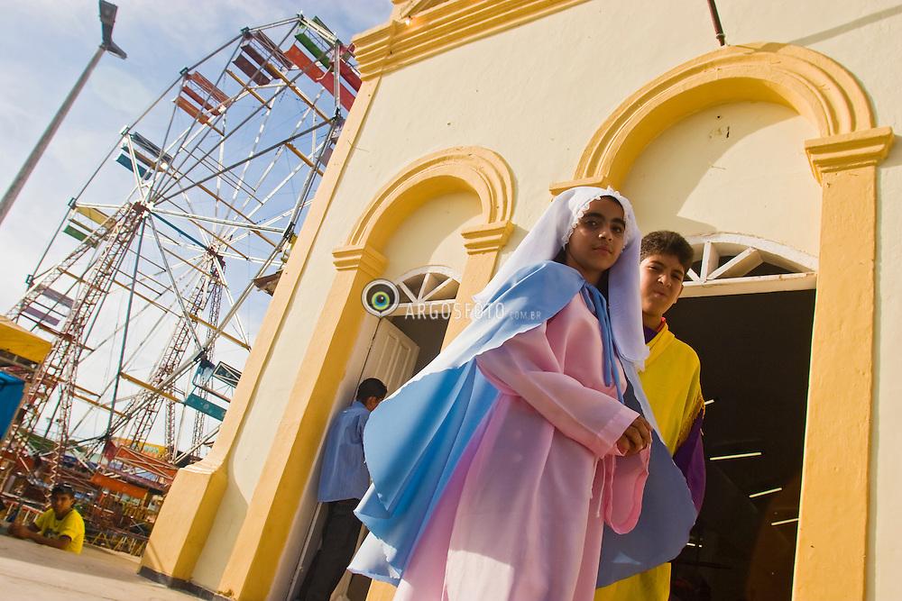 Dia de Sao Jose, missa e procissao na cidade de Olho D'Agua do Casado / Saint Jose day, religious procession  in Olho D'agua do Casado city, in northeast of Brazil.Foto Marcos Issa/Argosfoto