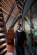 Helsinki, Sauna Löyly, the designer Ville Hara from Avanto Architects