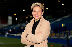 Premier Sports TV Presenter and Pundit Philippa Tuttiett - Mandatory by-line: Ryan Hiscott/JMP - 05/10/2019 - RUGBY - Cardiff Arms Park - Cardiff, Wales - Cardiff Blues v Edinburgh Rugby - Guinness Pro 14