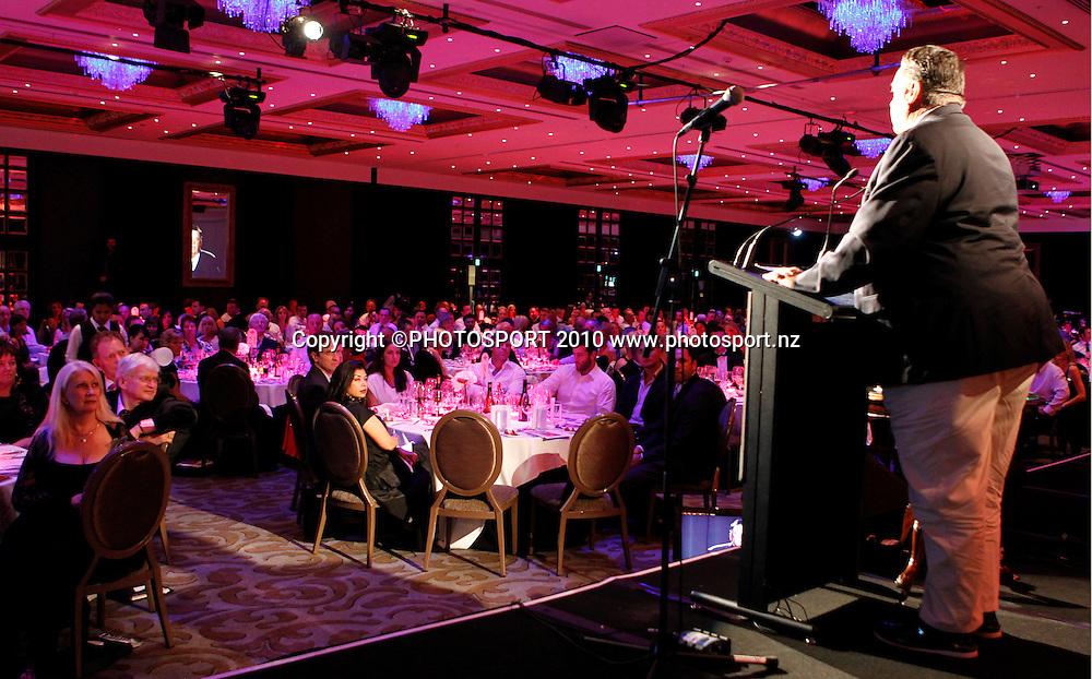 Dennis Conner. An Evening with America's Cup Legends, Asthma Fund raising dinner, Langham Hotel, Auckland, Friday 17 December 2010. Photo: Simon Watts/photosport.co.nz
