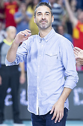 September 17, 2018 - Madrid, Spain - Juan Carlos Navarro during the FIBA Basketball World Cup Qualifier match Spain against Latvia at Wizink Center in Madrid, Spain. September 17, 2018. (Credit Image: © Coolmedia/NurPhoto/ZUMA Press)