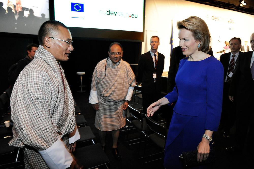 20150604- Brussels - Belgium - 04 June2015 - European Development Days - EDD  - Queen Mathilde of Belgium meets Tshering Tobgay PM Buthan  © EU/UE