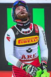17.02.2019, Aare, SWE, FIS Weltmeisterschaften Ski Alpin, Slalom, Herren, 2. Lauf, im Bild Marco Schwarz (AUT) // Marco Schwarz of Austria reacts after his 2nd run of men's Slalom of FIS Ski World Championships 2019. Aare, Sweden on 2019/02/17. EXPA Pictures © 2019, PhotoCredit: EXPA/ Dominik Angerer