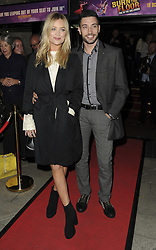 Laura Whitmore, Giovanni Pernice bei der Fire In The Ballroom VIP Opening Night in London / 191016<br /> <br /> <br /> *** Fire In The Ballroom VIP Opening Night in London on October 19, 2016 ***