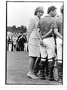 Prince and Princess of Wales. Cartier Polo. Windsor. 26 July 1987<br />