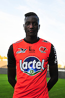 Sehrou Guirassy - 17.09.2014 - Photo officielle Laval - Ligue 2 2014/2015<br /> Photo : Philippe Le Brech / Icon Sport