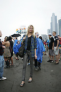 CHICAGO, IL - AUGUST 7: 2009 Lollapalooza Music Festival on August 7, 2009 in Grant Park, Chicago, Illinois. Street Style Fashion for AOL StyleList and Lucky Magazine.  Photo by Bryan Rinnert/3Sight Photography