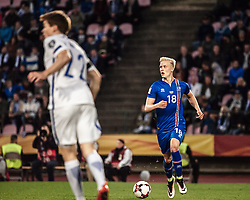 September 2, 2017 - Tampere, Finland - Iceland's Hordur Magnússon during the FIFA World Cup 2018 Group I football qualification match between Finland and Iceland in Tampere, Finland, on September 2, 2017. (Credit Image: © Antti Yrjonen/NurPhoto via ZUMA Press)