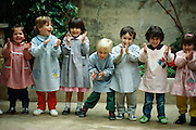 Children, Mallorca, Spain.