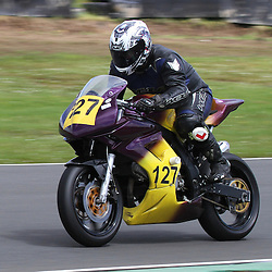 John Easton from Edinburgh in action at the the annual visit to Knockhill of the North East MCRC Championship round. STEPHEN LAWSON|STOCKPIX
