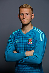 CARDIFF, WALES - Tuesday, September 4, 2018: Wales' Goalkeeper Adam Davies. (Pic by David Rawcliffe/Propaganda)