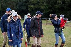 De Jong Sanne, NED, de Liedekerke Lara, BEL, Forsberg Christopher, SWE, Meier Kai Steffen, GER<br /> CCI 3* Boekelo 2017<br /> © Dirk Caremans<br /> 06/10/2017