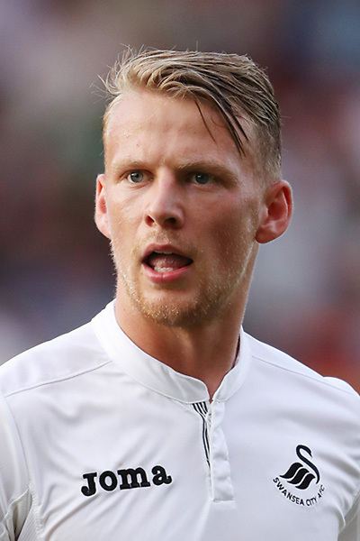 Stephen Kingsley of Swansea City