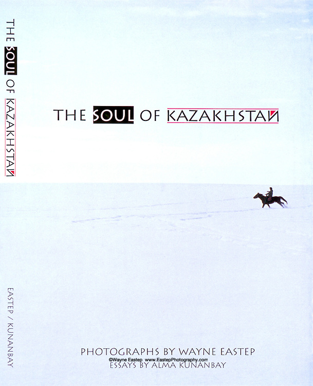 The Soul of Kazakhstan, book cover