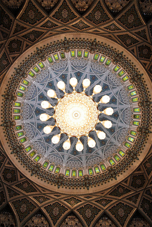 Muscat, Oman, Grand Mosque, Swarowski, biggest swarowski chandelier in the world,
