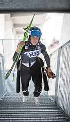 20.03.2015, Planica, Ratece, SLO, FIS Weltcup Ski Sprung, Planica, Finale, Skifliegen, im Bild Michael Hayboeck (AUT) //during the Ski Flying Individual Competition of the FIS Ski jumping Worldcup Cup finals at Planica in Ratece, Slovenia on 2015/03/20. EXPA Pictures © 2015, PhotoCredit: EXPA/ JFK