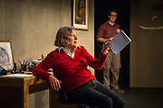 Wellington, NZ. 14 March 2018. Switzerland. By Joanna Murray-Smith. Directed by Susan Wilson. Starring: Catherine Downes and Simon Leary. Opens at Circa Two. 17 March to 14 April 2018. Photo credit: Stephen A'Court.  COPYRIGHT ©Stephen A'Court