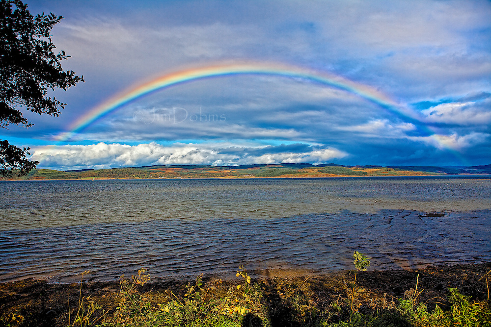 Rainbows seemed to be everywhere in Scotland,each one different in it its own way.