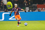 Sergio Aguero of Manchester City during the UEFA Champions league, Group F football match between Olympique Lyonnais and Manchester City on November 27, 2018 at Groupama stadium in Decines-Charpieu near Lyon, France - Photo Romain Biard / Isports / ProSportsImages / DPPI