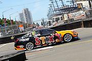 ShaneVan Gisbergen (Darrell Lea Holden). Coates Hire Sydney 500. V8 Supercars Championship. Homebush Street Circuit, NSW. 5-6 Devember 2015. Photo: Clay Cross / photosport.nz