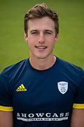 Brad Wheal of Hampshire during the 2019 press day for Hampshire County Cricket Club at the Ageas Bowl, Southampton, United Kingdom on 27 March 2019.