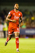 Nathan Ferguson (Crawley Town) during the EFL Cup match between Crawley Town and Norwich City at The People's Pension Stadium, Crawley, England on 27 August 2019.