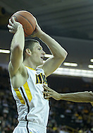 December 04 2010: Iowa Hawkeyes guard Matt Gatens (5) during the first half of their NCAA basketball game at Carver-Hawkeye Arena in Iowa City, Iowa on December 4, 2010. Iowa won 70-53.