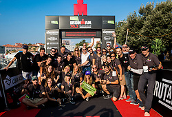 Tina Maze with organising committee at Ironman 70.3 Slovenian Istra 2018, on September 23, 2018 in Koper / Capodistria, Slovenia. Photo by Vid Ponikvar / Sportida