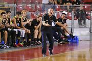 DESCRIZIONE : Roma Serie A2 2015-16 Acea Virtus Roma Benacquista Assicurazioni Latina<br /> GIOCATORE : Guido Saibene<br /> CATEGORIA : coach allenatore esultanza<br /> SQUADRA : Acea Virtus Roma<br /> EVENTO : Campionato Serie A2 2015-2016<br /> GARA : Acea Virtus Roma Benacquista Assicurazioni Latina<br /> DATA : 27/09/2015<br /> SPORT : Pallacanestro <br /> AUTORE : Agenzia Ciamillo-Castoria/G.Masi<br /> Galleria : Serie A2 2015-2016<br /> Fotonotizia : Roma Serie A2 2015-16 Acea Virtus Roma Benacquista Assicurazioni Latina