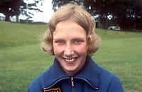 Anna Greer, hurdler, athlete, Craigavon, N Ireland, July 1969, 196907000201<br /> <br /> Copyright Image from<br /> Victor Patterson<br /> 54 Dorchester Park<br /> Belfast, N Ireland, UK, <br /> BT9 6RJ<br /> <br /> t1: +44 28 90661296<br /> t2: +44 28 90022446<br /> m: +44 7802 353836<br /> e1: victorpatterson@me.com<br /> e2: victorpatterson@gmail.com<br /> <br /> www.victorpatterson.com