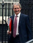 © Licensed to London News Pictures. 01/05/2012. London, UK .Secretary of State for Northern Ireland Owen Paterson . Cabinet ministers in Downing Street for the Cabinet Meeting on 1st May 2012. Photo credit : Stephen Simpson/LNP