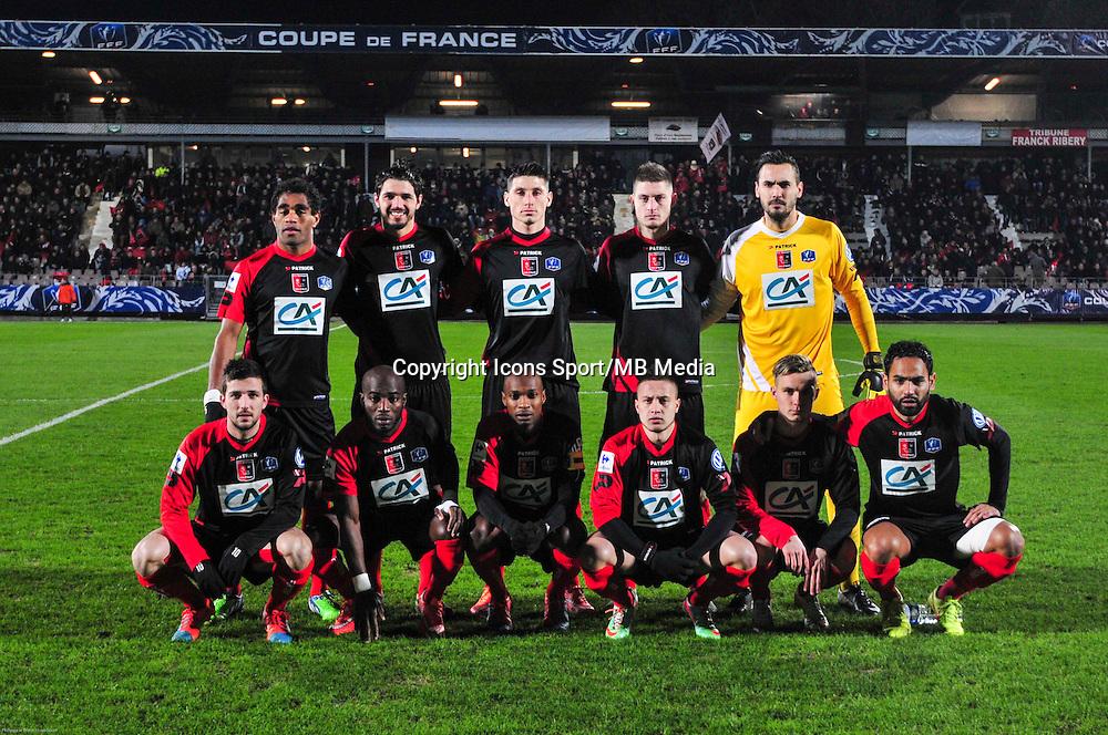 Groupe Boulogne - 21.01.2015 - Boulogne / Grenoble - Coupe de France<br />Photo : Philippe le Brech / Icon Sport