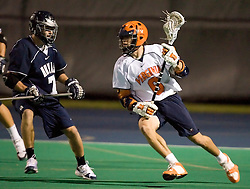 Virginia Cavaliers A Ben Rubeor (6)..The Virginia Cavaliers men's lacrosse team faced the Georgetown Hoyas in a Fall Ball Scrimmage held at the University Hall Turf Field in Charlottesville, VA on October 12, 2007.