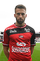 Lucas Deaux of Guingamp during the Photo shooting of En Avant Guingamp on september 27th 2016<br /> Photo : Philippe Le Brech / Icon Sport