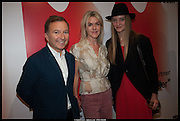 TONY CHAMBERS; SUZANNE TROCME; LERA MOISEEVA;, Born in the USSR, Design exhibition opening. Gallery Elena Shchukina, Beauchamp Place, Knightsbridge. London. 15 September 2014.