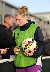 Bristol Academy's Alice Evans - Photo mandatory by-line: Paul Knight/JMP - Mobile: 07966 386802 - 09/05/2015 - SPORT - Football - Bristol - Stoke Gifford Stadium - Bristol Academy Women v Arsenal Ladies FC - FA Women's Super League
