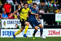 Josh Hare of Bristol Rovers takes on Oliver Sarkic of Burton Albion - Mandatory by-line: Robbie Stephenson/JMP - 31/08/2019 - FOOTBALL - Pirelli Stadium - Burton upon Trent, England - Burton Albion v Bristol Rovers - Sky Bet League One